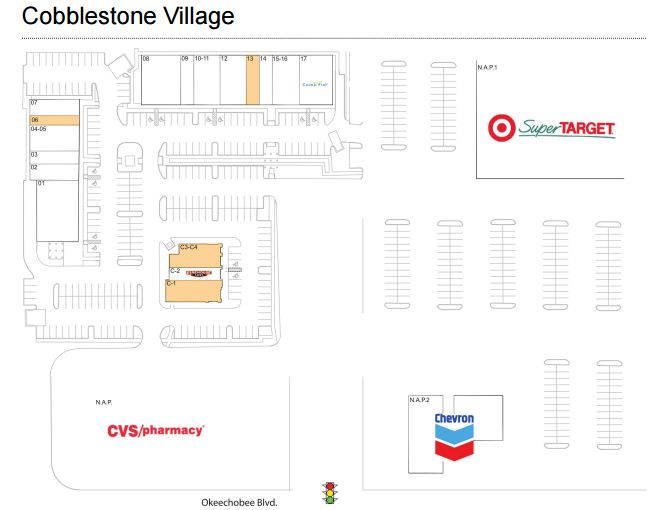 Cobblestone Village Royal Palm Beach Store List Hours