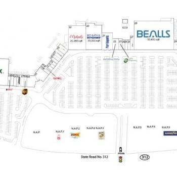 Plan of mall Cobblestone Village - St. Augustine