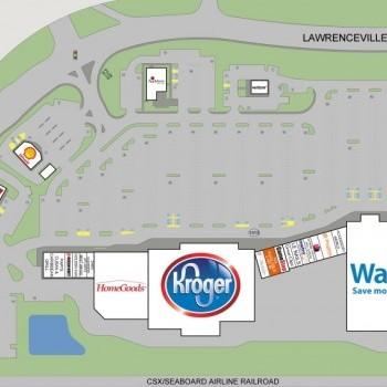 Plan of mall Cofer Crossing