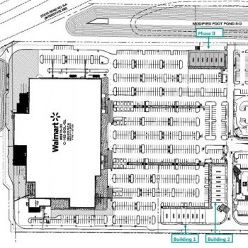 Plan of mall Collins Plaza