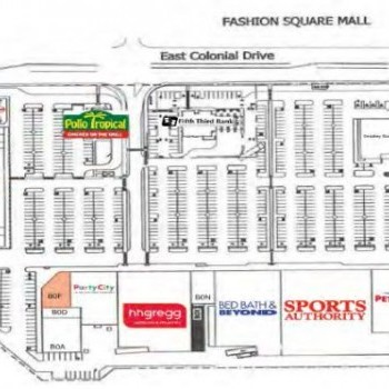 Plan of mall Colonial Landing