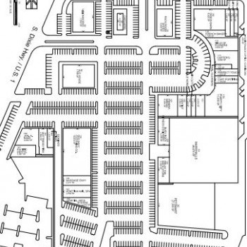 Plan of mall Colonial Palms Plaza