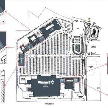 Plan of mall Colonial Promenade Trussville