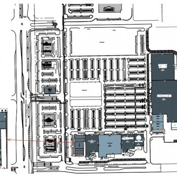 Plan of mall Colonial Square