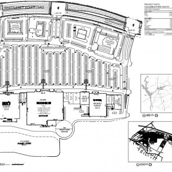 Plan of mall Columbus Park Crossing South