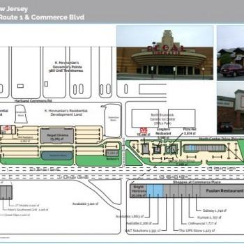 Plan of mall Commerce Center