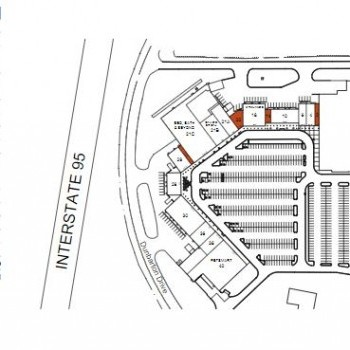 Plan of mall Commons At Magnolia