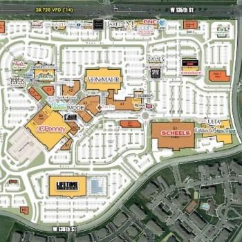 Plan of mall Corbin Park