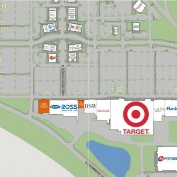 Plan of mall Cornerstar
