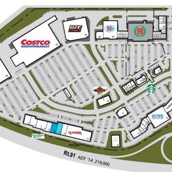 Plan of mall Corona Hills Plaza