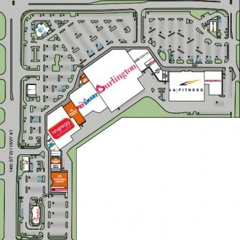 Plan of mall Cortez Plaza