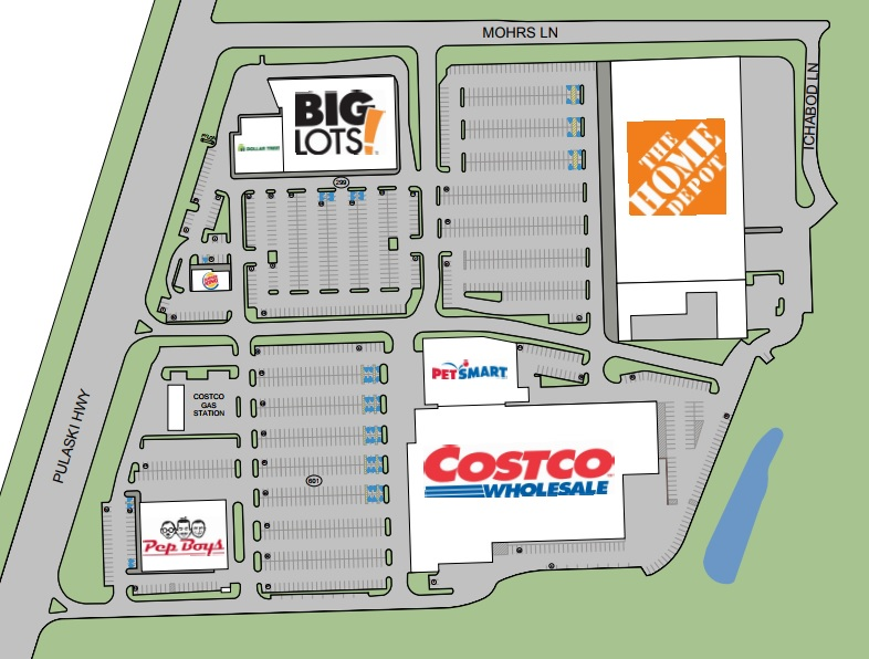 Costco In Michigan Map.Costco Plaza Middle River Store List Hours Location Middle