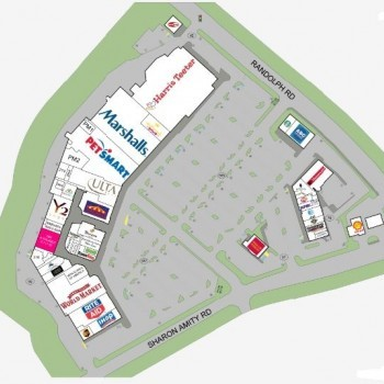 Plan of mall Cotswold Village