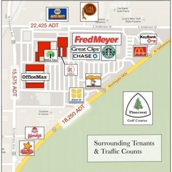 Plan of mall Country Club Mall - Idaho Falls