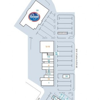 Plan of mall Country Fair