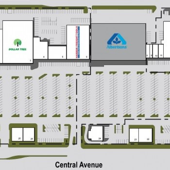 Plan of mall Country Fair Shopping Center