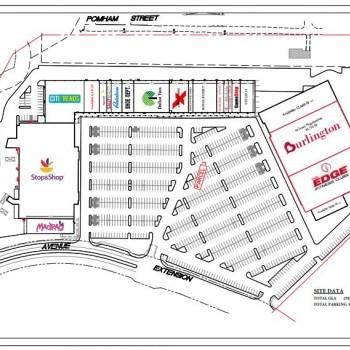 Plan of mall Cranston Parkade