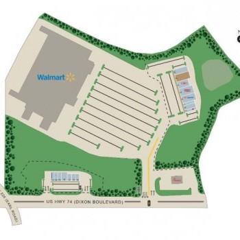 Plan of mall Creekside Plaza