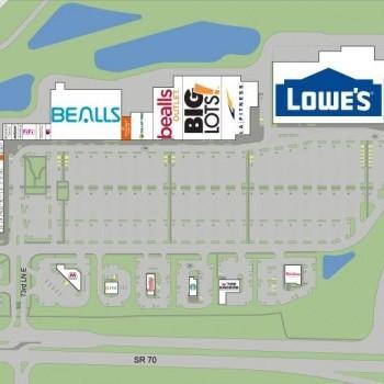 Plan of mall Creekwood Crossing