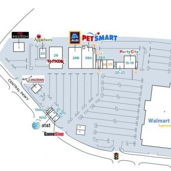 Plan of mall Cross Creek