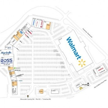 Plan of mall Cross Keys Commons