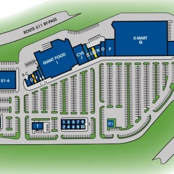 Plan of mall Cross Keys Place