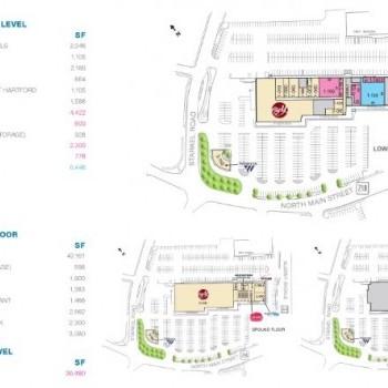 Plan of mall Cross Roads Plaza