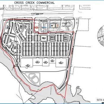 Plan of mall Crosscreek Market