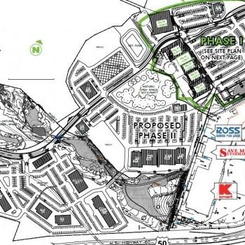 Plan of mall Crossings at El Dorado