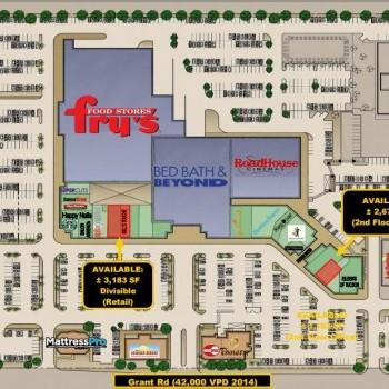 Plan of mall Crossroads Festival
