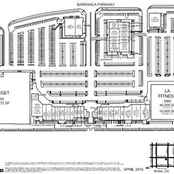 Plan of mall Crossroads