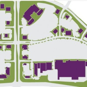 Plan of mall Crossroads Towne Center
