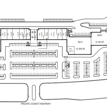 Plan of mall Crystal Cove Shopping Center