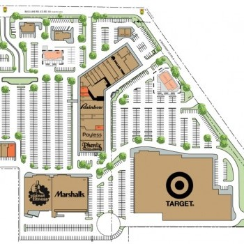 Plan of mall Crystal Shopping Center