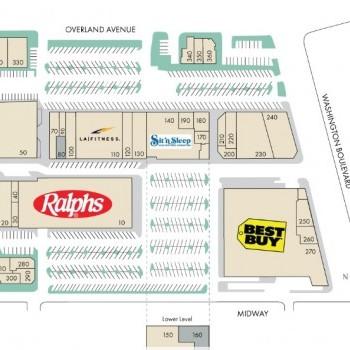 Plan of mall Culver Center