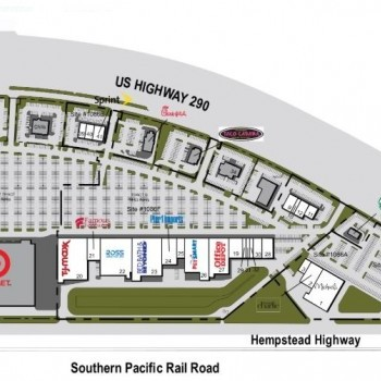 Plan of mall Cypress Towne Center