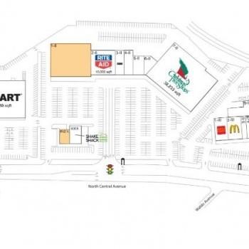Plan of mall Dalewood I, II, & III