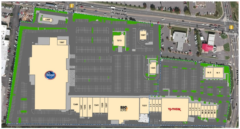 Map Of Georgia Mall.Dalton Shopping Center Store List Hours Location Dalton
