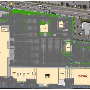 Plan of mall Dalton Shopping Center