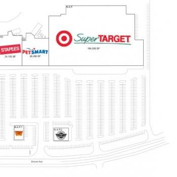 Plan of mall Davenport Retail Center