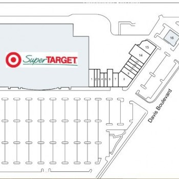 Plan of mall Davis Towne Crossing