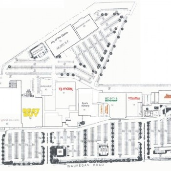 Deerbrook Mall Illinois - store list, hours, (location: Deerfield ...