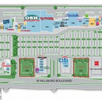 Plan of mall Deerfield Mall