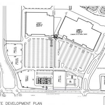 Plan of mall Deerfield Shopping Center