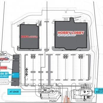 Plan of mall DeKalb Plaza