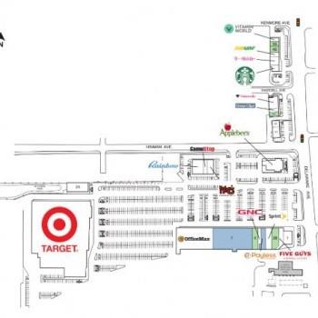 Plan of mall Delaware Consumer Square