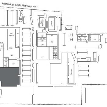 Plan of mall Delta Plaza Shopping Center