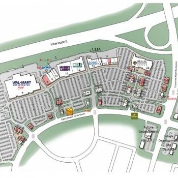 Plan of mall Delta Shores