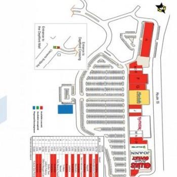 Plan of mall Deptford Crossing
