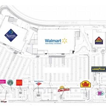 Plan of mall Desert Gateway